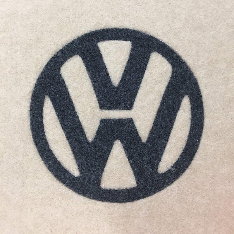 van-carpet-lining-vw-logo